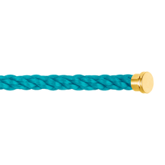 Turquoise cable