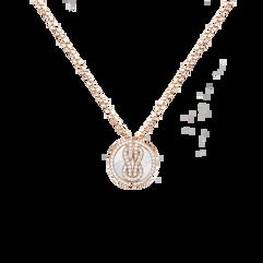 シャンス アンフィニ ラッキーメダル ネックレス