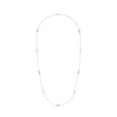 8°0 long necklace