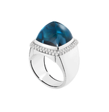 Bague Pain de Sucre topaze blue london