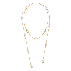 Baie des Anges long necklace