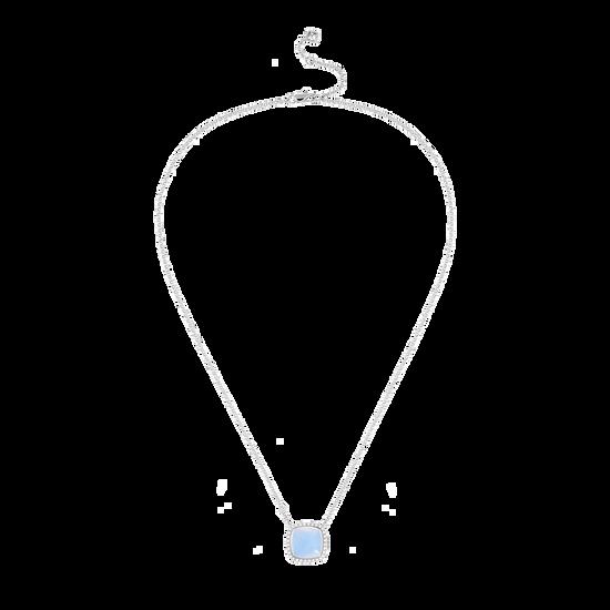 Chalcedony Pain de Sucre necklace