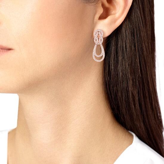 Boucles d'oreilles Chance Infinie