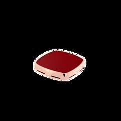 커넬리언 플랫 카보숑, 18K 핑크 골드