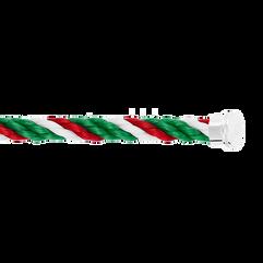 Cable emblema verde, bianco e rosso