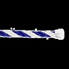 Cable emblema blu e bianco