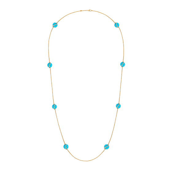Baie des Anges long necklace