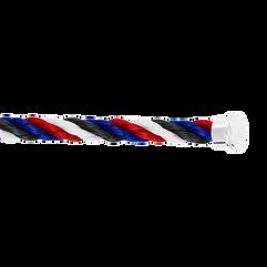 Cable emblema blu, bianco, rosso e nero
