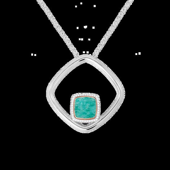 Amazonite Pain De Sucre necklace