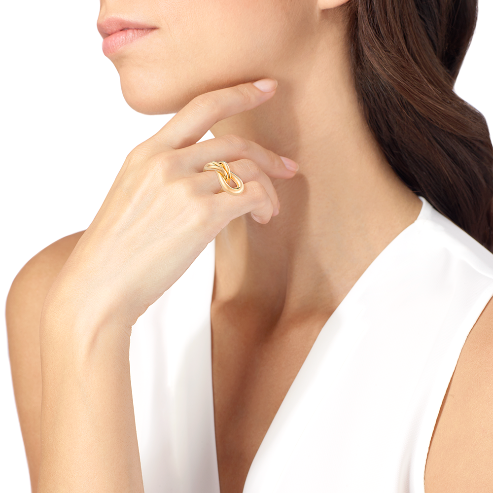 Chance Infinie ring by Annelise Michelson
