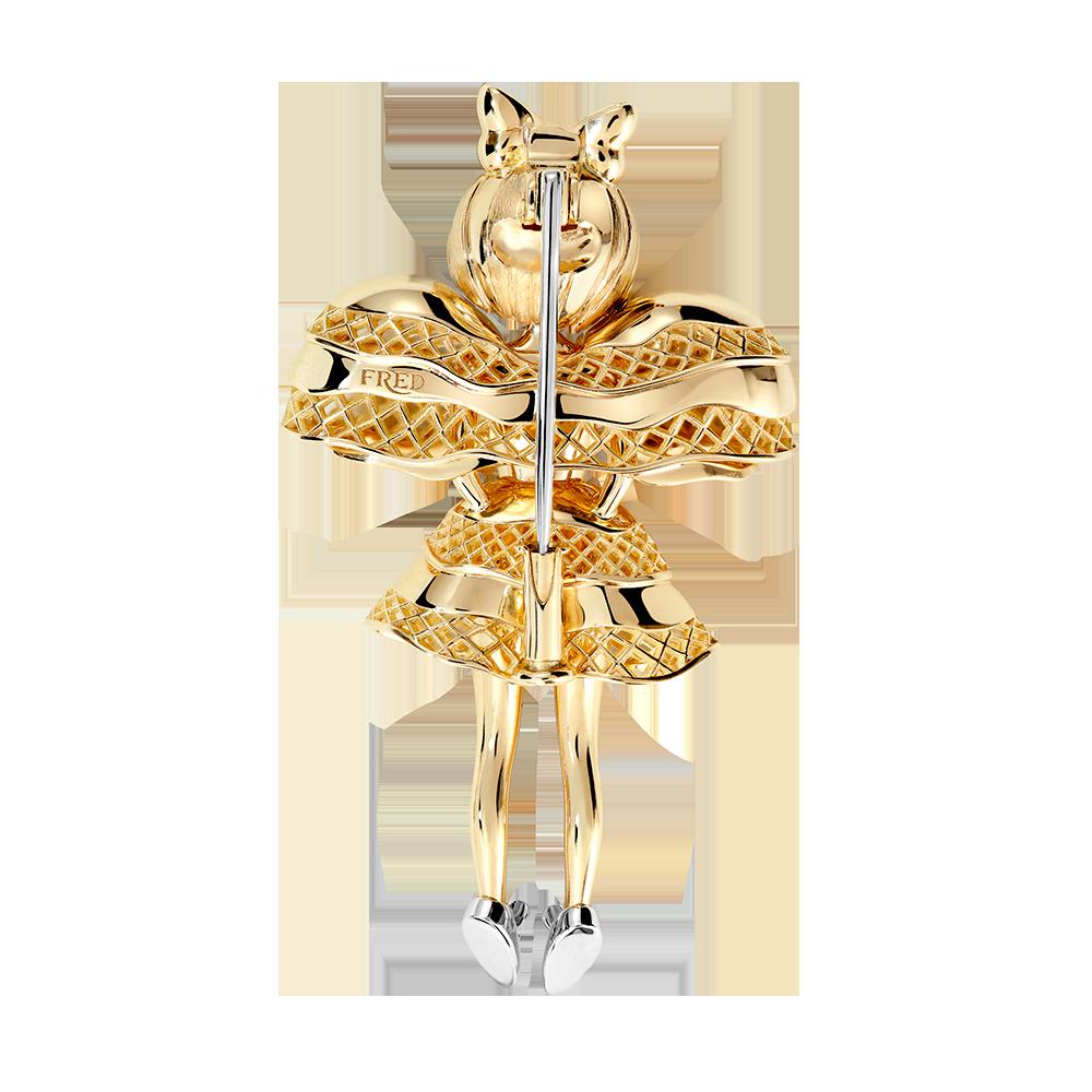Fredy's Tomo's Doll Chouchou pendant brooch