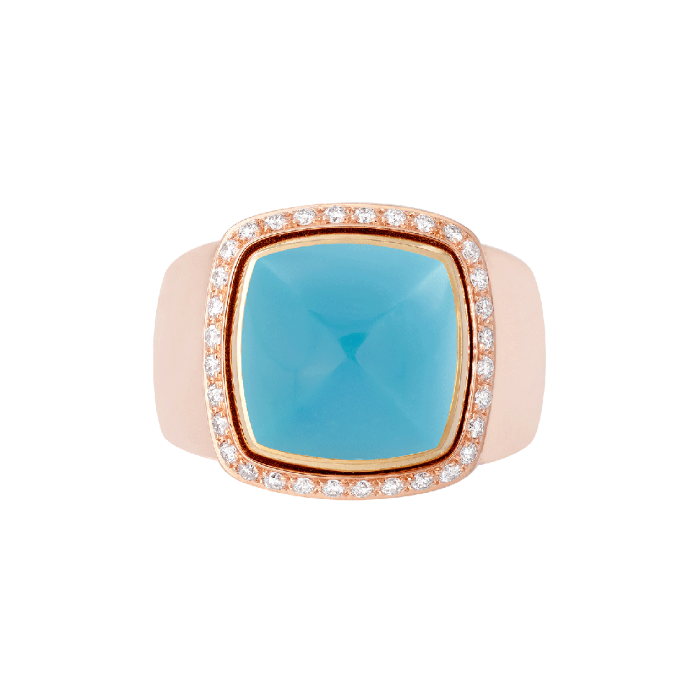 Turquoise Pain de Sucre ring