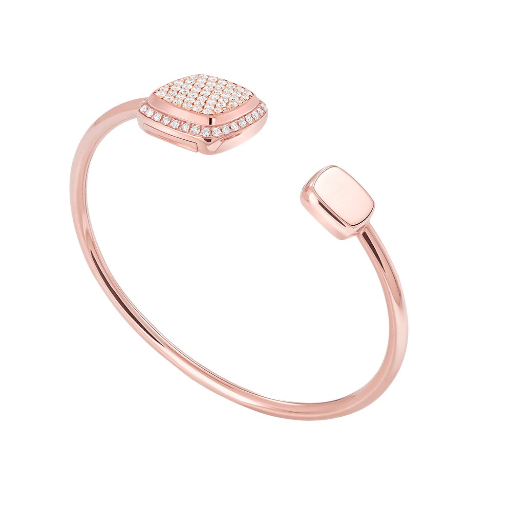 Diamonds Pain de Sucre bangle