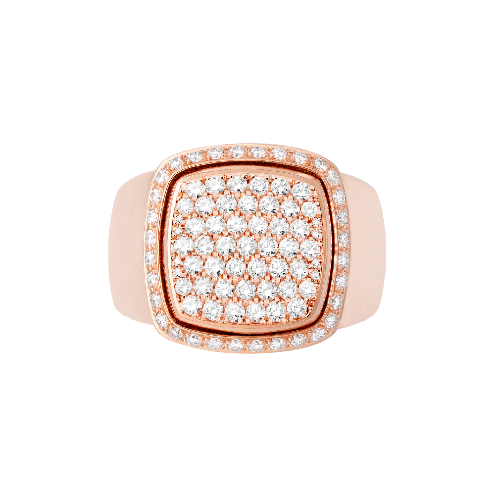 Diamonds Pain de Sucre ring