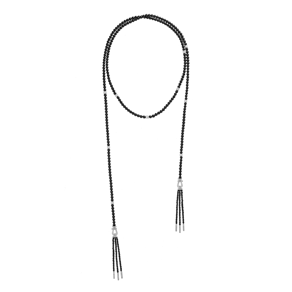 Force 10 long necklace