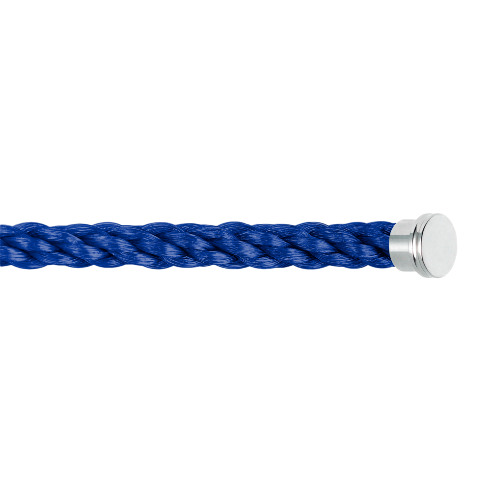 Indigo blue cable