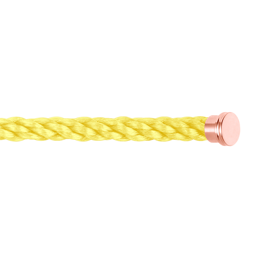 Neon yellow cable