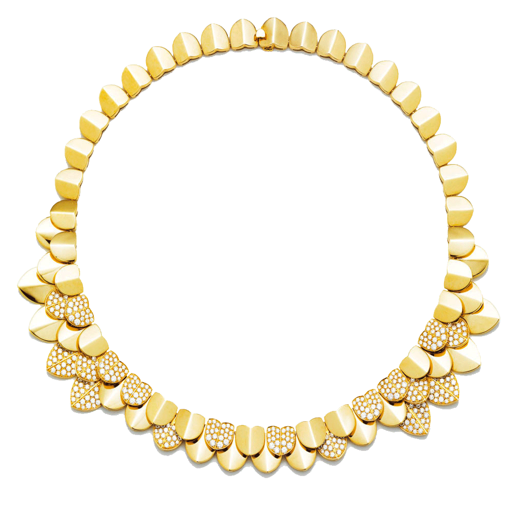 Une Île d'Or necklace
