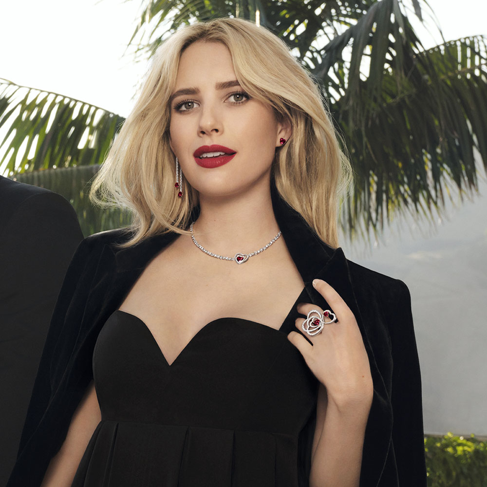 Emma Roberts incarne la collection Pretty Woman
