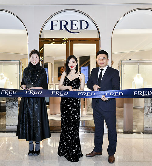 SHANGHAI GRAND GATEWAY & PLAZA 66 BOUTIQUE OPENING