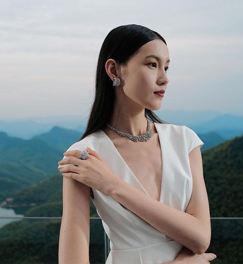 High Jewelry event at Moganshan, China