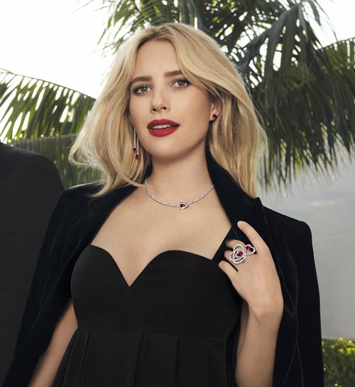 Emma Roberts embodies the Pretty Woman collection